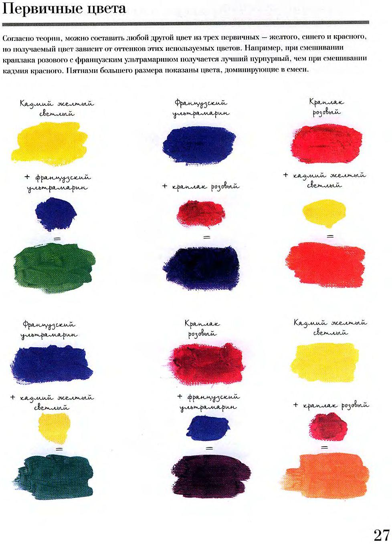 Как сделать серый цвет масляными красками