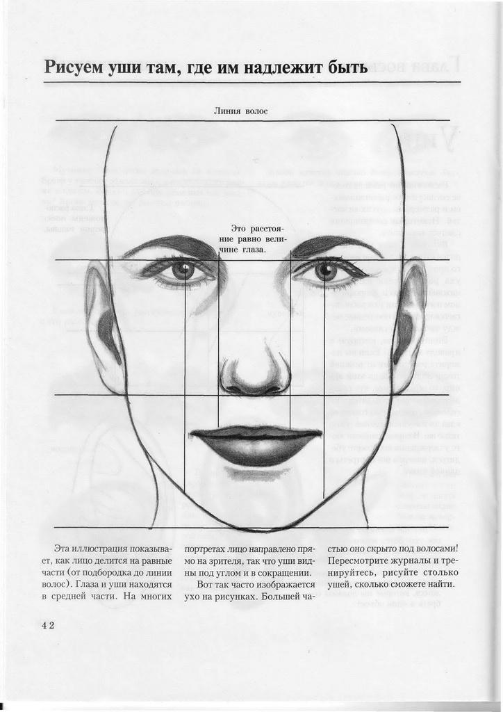 учимся рисовать человека: